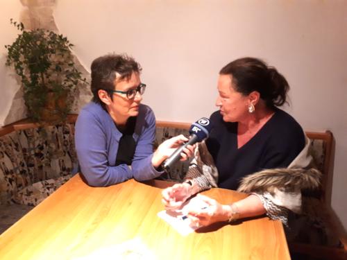 Interview durch BR
